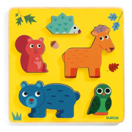 Puzzle - Frimours - Djeco