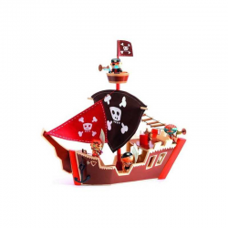 Arty Toys Ze pirate boat Djeco