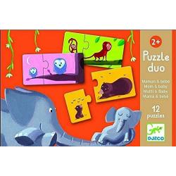 puzzle Mom & baby Djeco