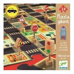 puzzle La città Djeco