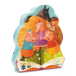 puzzle Tre porcellini Djeco