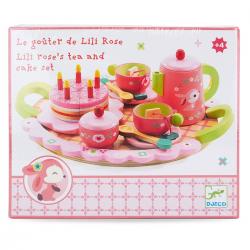 Gioco imitazione Lily's Roses tea party Djeco