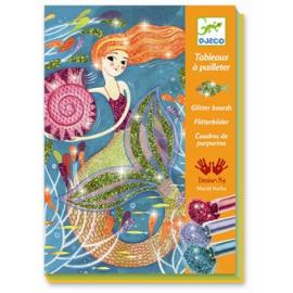 Sirene - quadri col glitter - Djeco