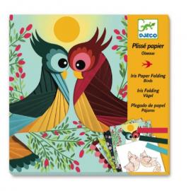 Carta plissettata - Uccelli...