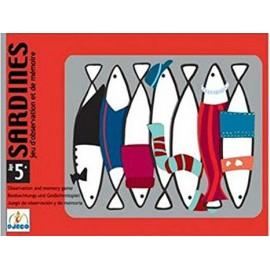 carte Sardines Djeco