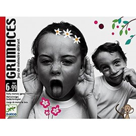 carte Grimaces - Djeco