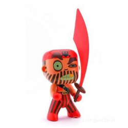 Arty Toys Capitain red Djeco