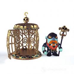 Arty Toys Gnomus & ze cage...